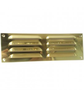 OPEN GRILL mm229x76 BRASS