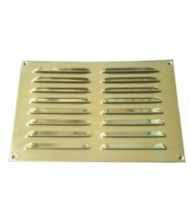 OPEN GRILL mm229x152 BRASS