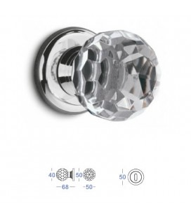 POMOLO CRYSTAL MM40 CHROME PLATED