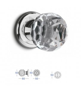 POMOLO CRYSTAL mm50 CHROME PLATED