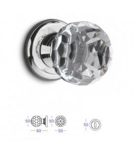 POMOLO CRYSTAL mm50 CHROME PLATED