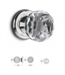 POMOLO CRYSTAL mm60 CHROME PLATED