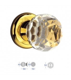POMOLO CRYSTAL MM40 24K GOLD