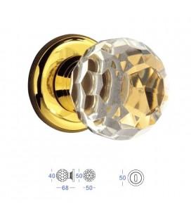 POMOLO CRYSTAL MM40 24K GOLD