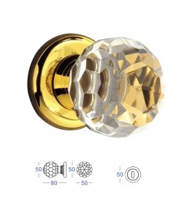 POMOLO CRYSTAL mm50 24K GOLD