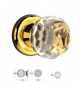 POMOLO CRYSTAL mm60 24K GOLD