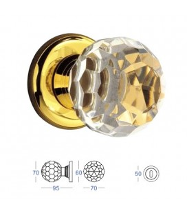 POMOLO CRYSTAL mm70 24K GOLD
