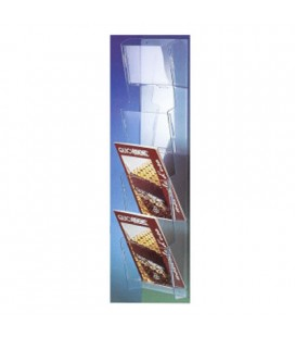 BROCHURE HOLDER A5 4T WALL