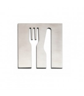 STAINLESS STEEL PICTOGRAM