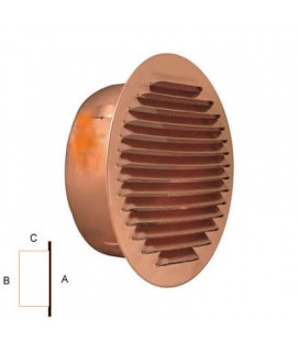 IMBOC COPPER GRATE. Mm80 C/NETWORK