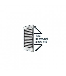 RETT GRID. mm193x165 INOX