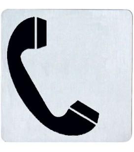 PITTOGRAMMA TELEFONO INOX