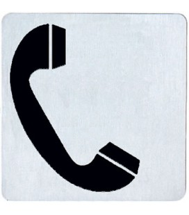STAINLESS PHONE PICTOGRAM