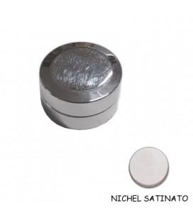 MAGNETE DOPPIO NICHEL SATINATO