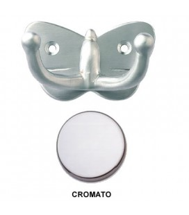 BUTTERFLY HOOK GLOSSY CHROME