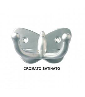 GANCIO FARFALLA CROMO SATINATO
