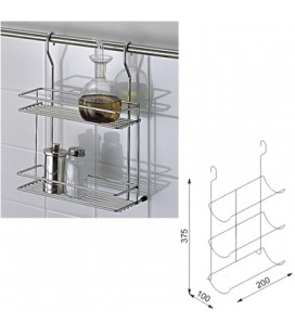 SPICE RACK STAINLESS