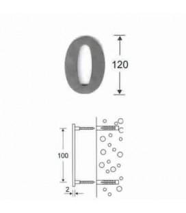 NUMERO 0 INOX mm120