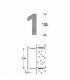 NUMERO 1 INOX mm120