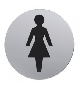 STAINLESS STEEL PICTOGRAM WC