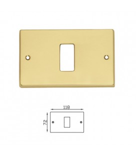 COVER SWITCH 8012/B OLV