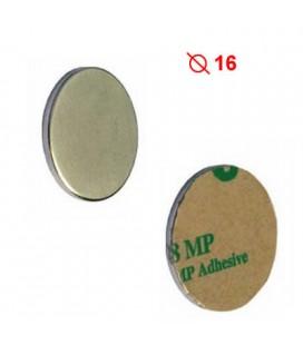MAGNETE NEODIMIO ADESIVO mm15