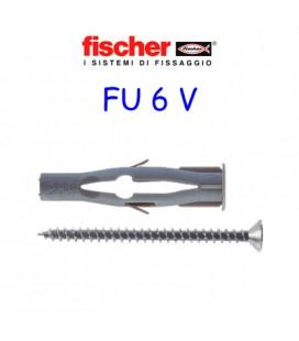 TASSELLI FISCHER FU 6x45 CON VITE