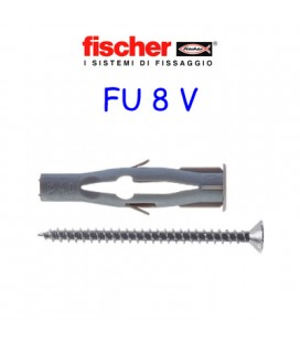 FISCHER FU 8 + SCREW ANCHORS