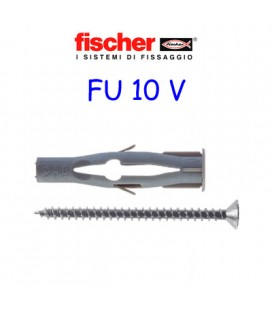 FISCHER FU 10 + SCREW ANCHORS