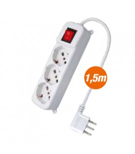 MULTI-SOCKET 3 + INT. White
