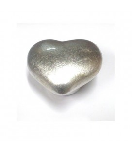 HEART POMOLE/SILVER P