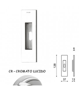 MANIGLIA SIRO CHIAVE CROMATO LUCIDO