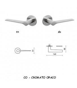 1/2 MANIGLIA LAMA B CROMATO OPACO