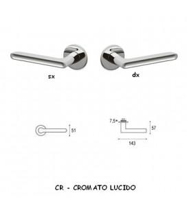 1/2 MANIGLIA LUCY CROMATO