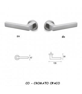 1/2 MANIGLIA PLANET CROMATO OPACO