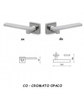 1/2 MANIGLIA SPACE Q CROMATO OPACO