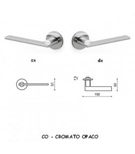 1/2 MANIGLIA OPEN CROMATO OPACO