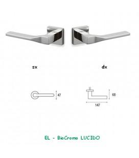 1/2 MANIGLIA ADAMANT BioCromo LUCIDO
