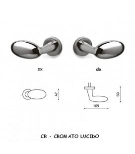 1/2 MANIGLIA BLINDO CROMATO LUCIDO