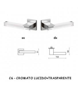 1/2 MANIGLIA ICE CROMATO LUCIDO