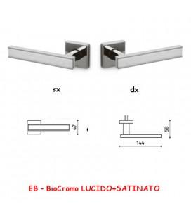 1/2 MANIGLIA EDGE BioCromo LUCIDO/SATIN