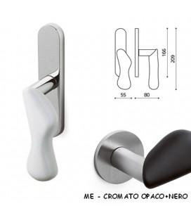 CREMONESE CHELSEA CROMATO OPACO/NERO