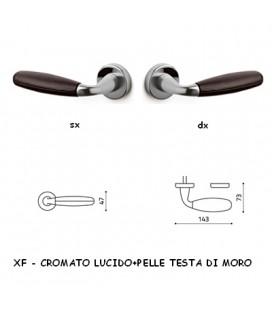 1/2 MANIGLIA CLUB CROMATO+TESTA DI MORO