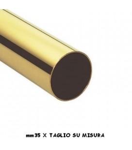 TUBO 35x1000 OTTONE LUCIDO
