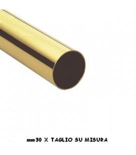 TUBO 30x1000 OTTONE LUCIDO
