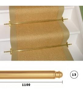 BACCHETTE GUIDA SCALE 13x1100 OTTONE