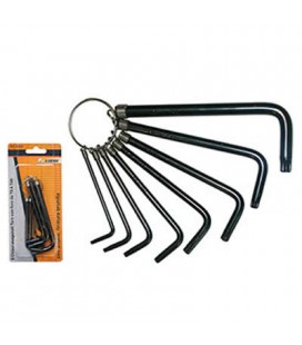 TORX ALLEN KEY SERIES 8 pcs.