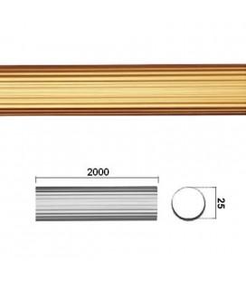 TUBO RIGATO 25x2000