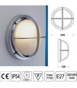 LAMPADA C/GRIGLIA mm240 CR